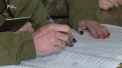 Як голосують військові з передової – відео