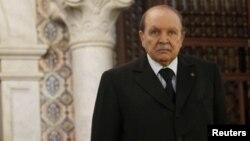 Претседателот на Алжир, Абделазиз Бутефлика.