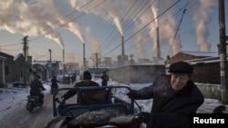 Электростанция в китайском городе Шаньси, работающая на угле