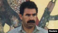 Kurdistan Workers Party (PKK) chief Abdullah Ocalan (file photo)
