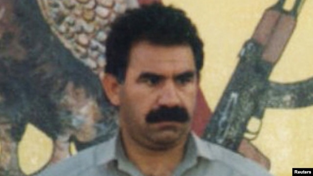 Kurdistan Workers Party (PKK) chief Abdullah Ocalan (file photo)