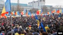 Moldovada nümayiş