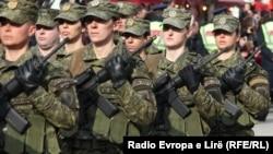 Pjesëtare të Forcës së Sigurisë së Kosovës