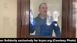Владислав Єсипенко на суді в Криму, архівне фото