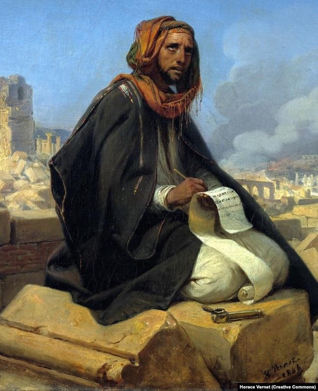 Орас Верне. «Пророк Єремія на руїнах Єрусалиму», 1844 рік