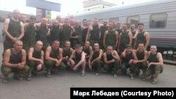 Ребята из омского учебного центра ВДВ, тот самый призыв