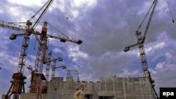 Centrala nucleară în construcție de la Belene