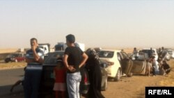Irakianët duke u zhvendosur nga Mosuli