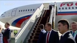 Putin Arrives In Tehran For Trilateral Summit