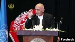 Ооганстан президенти Ашраф Гани.