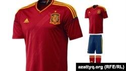 Испания құрамасының формасы.