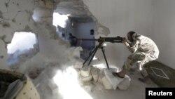 مقاتل من الجيس السوري الحر