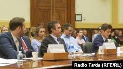 Family of Robert Levinson in a hearing in Congress on Tuesday July 25, 2017.