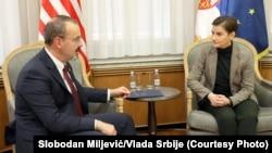 Ambasador SAD u Srbiji Entoni Godfri i premijerka Srbije Ana Brnabić izneli su mišljenje o pitanju TV N1: susret iz novembra 2019.