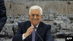 Palestinian leader Mahmud Abbas (file photo)