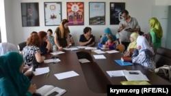 Третья расширенная встреча родственников крымских политзаключенных из объединения «Крымская солидарность»