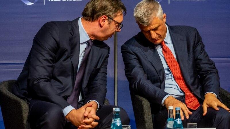 Zašto Vučić i Tači žele da trguju teritorijama?