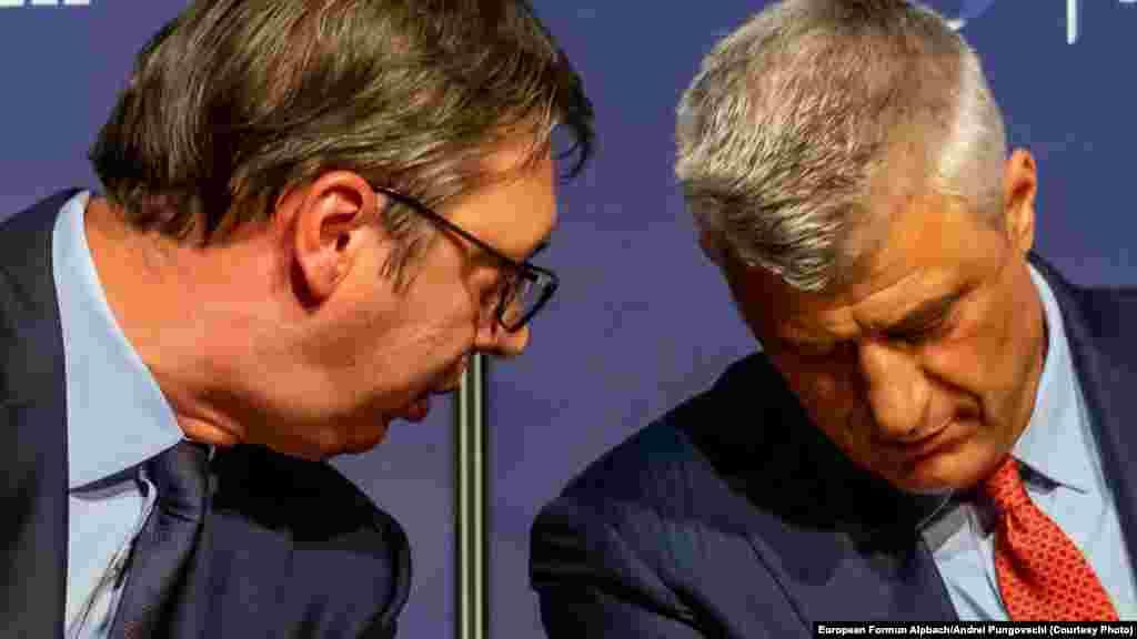 САД - Претседателите на Србија и на Косово Александар Вучиќ и Хашим Тачи се соочија во Советот за безбедност на Обединетите нации неколку денови откако парламентот во Приштина гласаше за трансформирање на Безбедносните сили во оружени сили на Косово. Овој потег ги налути Србите на Косово и Белград, а предизвика и загриженост кај НАТО.