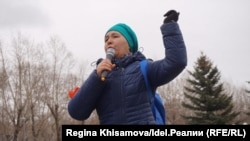 Митинг против строительства мусоросжигательного завода в Казани