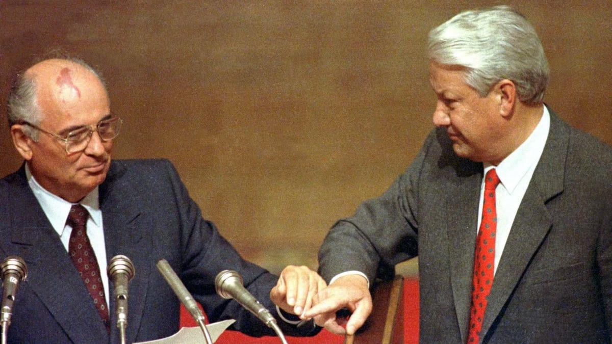 Gorbachev Blames Greedy Russian Ukrainian Leaders For 1991 Soviet Collapse