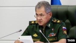 Ресей қорғаныс министрі Сергей Шойгу. Мәскеу, 25 тамыз 2016 жыл.