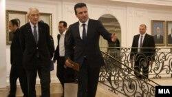 Градоначалникот на Солун, Јанис Бутарис во Скопје.