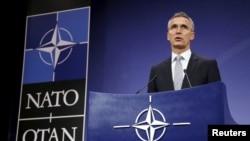 Генералниот секретар на НАТО, Јенс Столтенберг.