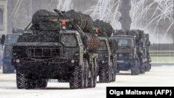 Ракетные установки С-400
