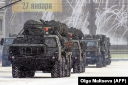 Владимир Путин не пришел на парад ,смотреть на C-400