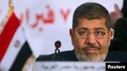 Египет президенті Мұхамед Мурси. Каир, 6 ақпан 2013 жыл.