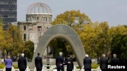 Vizita e ministrave të jashtëm në Hiroshimë, 11 prill 2016