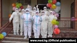 Закрытие COVID-отделения в Национальном центре фтизиатрии.