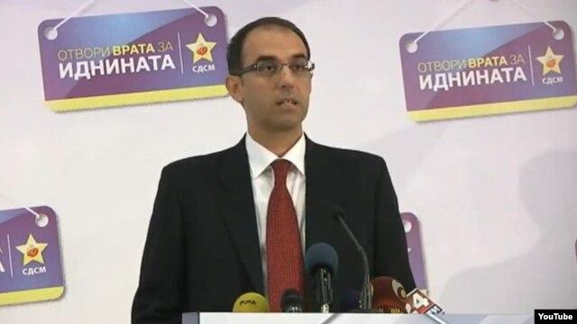 Зоран Јовановски, потпретседател на опозицискиот СДСМ.