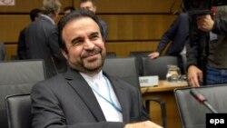 Иранскиот амбасадор во МААЕ, Реза Најафи.