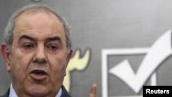 Iyad Allawi, leader of the secular Al-Iraqiyah coalition, said legal challenges also would be addressed directly to the United Nations, because of what he called the politicization of legal rulings within Iraq.