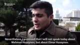 Freed Azerbaijani Blogger: I Will Continue 'Until The End'