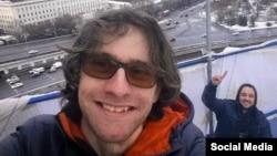 Александр Хорршр на высотке на Котельнической набережной