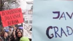 Osmomartovski marš u Sarajevu: Nijedna žena nevidljiva
