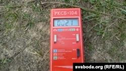 Измеритель уровня радиации.