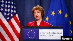 Протягом п'яти років європейську дипломатію очолювала британка Катрін Аштон
