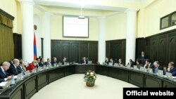 Armenia -- Government session, undated