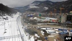 Ռուսաստան - Օլիմպիական շինարարությունը Սոչիում, հունվար, 2013թ.