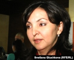 """Вера Ткаченко, член попечительского совета организации """"Международная тюремная реформа"""". Астана, 23 ноября 2011 года."""