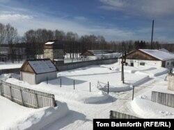 Вид на лагерь «Пермь-36».