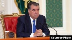 Президент Таджикистана Эмомали Рахмонов