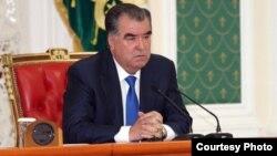 Президент Таджикистана Эмомали Тахмон