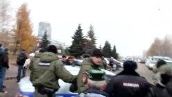 Конституциягә багышланган концерт-митингта полиция милли хәрәкәт вәкилен алып китте