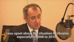 Interview With Exiled Ukrainian Minister 3/3