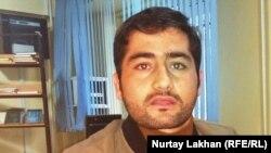 Бахидж Фазылрахман, обучающийся в Алматы студент из Афганистана. 6 октября 2017 года.