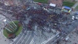 Як українські націоналісти марширували столицею – відео